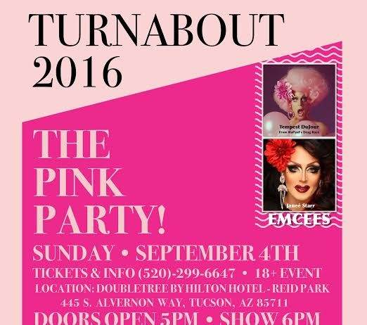 TIHAN's Turnabout Pink Party