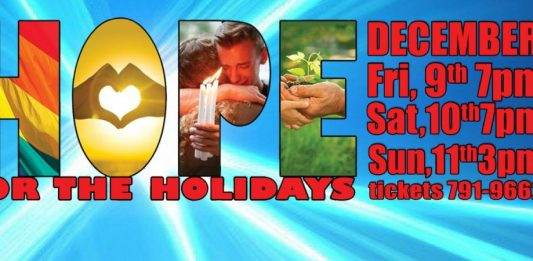 Desert Voices: Hope for the Holidays concert flyer